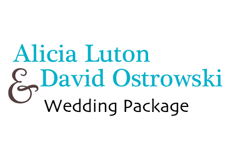 Alicia Luton & David Ostrowski Wedding Package